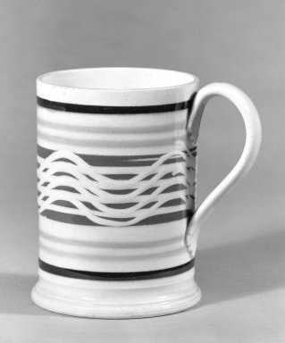 Mug. Earthenware Brooklyn Museum, Gift of Al Lewis, 63.93.10. Creative Commons-BY