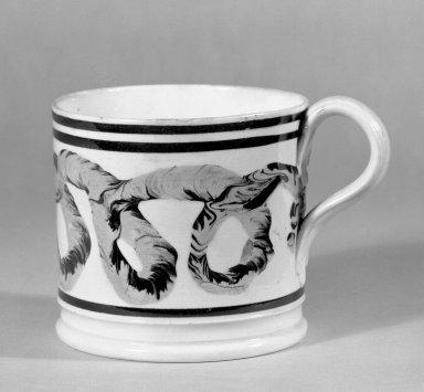 Mug. Earthenware Brooklyn Museum, Gift of Al Lewis, 63.93.11. Creative Commons-BY