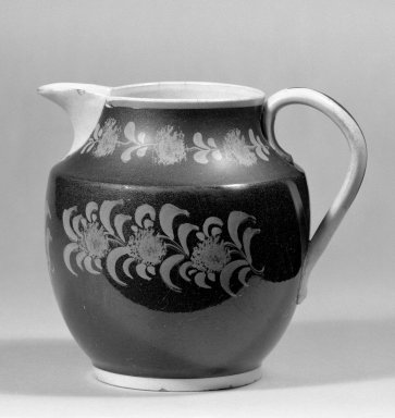 Jug. Earthenware Brooklyn Museum, Gift of Al Lewis, 63.93.5. Creative Commons-BY