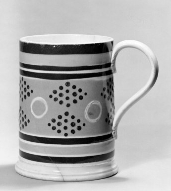Mug. Earthenware Brooklyn Museum, Gift of Al Lewis, 63.93.8. Creative Commons-BY