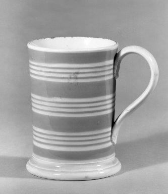 Mug. Earthenware Brooklyn Museum, Gift of Al Lewis, 63.93.9. Creative Commons-BY