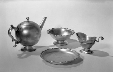 James Kerr. Creamer. Silver Brooklyn Museum, Bequest of Aimee L. May, 63.95.2. Creative Commons-BY