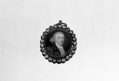 Haig. Pendant, ca. 1765. Gold, colorless stones, 2 3/8 x 1 1/2 x 5 in. (6 x 3.8 x 12.7 cm). Brooklyn Museum, Anonymous gift, 64.241.34. Creative Commons-BY