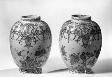 Brooklyn Museum: Pair of Vases