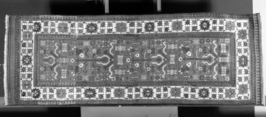 Karabagh Runner, late 18th century. Wool, Old Dims: 75 x 27 in. (190.5 x 68.6 cm). Brooklyn Museum, Gift of Dr. and Mrs. F.M. Al Akl, 65.203. Creative Commons-BY