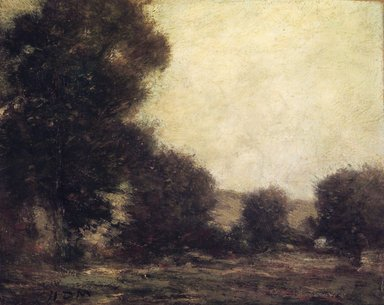 Homer Dodge Martin (American, 1836-1897). Effect of Trees, ca. 1879. Oil on canvas, 8 1/16 x 10 1/16 in. (20.5 x 25.6 cm). Brooklyn Museum, Gift of Daniel and Rita Fraad, Jr., 65.204.8