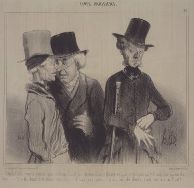 Honoré Daumier (French, 1808-1879). Voila!..., November 18, 1841. Lithograph on newsprint, Sheet: 9 7/8 x 13 1/4 in. (25.1 x 33.7 cm). Brooklyn Museum, Gift of Sydel Solomon, 65.265.17