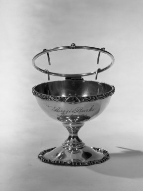 American. Orange Cup, ca. 1894. Silver, 3 x 3 3/8 x 3 3/8 in. (7.6 x 8.6 x 8.6 cm). Brooklyn Museum, Gift of Dorothy M. Schluter, 66.179.1. Creative Commons-BY