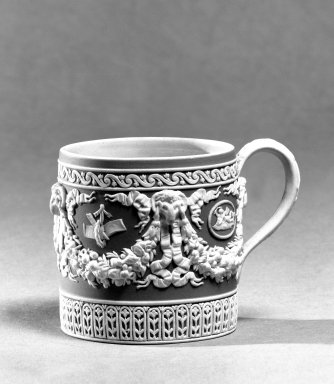 Wedgwood (1759-present). Coffee Cup, ca. 1830. Jasperware, 2 5/8 x 2 1/2 in. (6.7 x 6.4 cm). Brooklyn Museum, Gift of the Bess and Sam Zeigen Family, 66.229.13. Creative Commons-BY