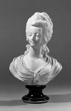 Sevres. Pair of Portrait Busts of Louis XVI and Marie Antoinette, ca. 1880. Bisque, Marie Antoinette: 13 x 7 in. (33 x 17.8 cm). Brooklyn Museum, Gift of the Bess and Sam Zeigen Family, 66.229.17a-b. Creative Commons-BY