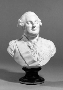 Brooklyn Museum: Pair of Portrait Busts of Louis XVI and Marie Antoinette