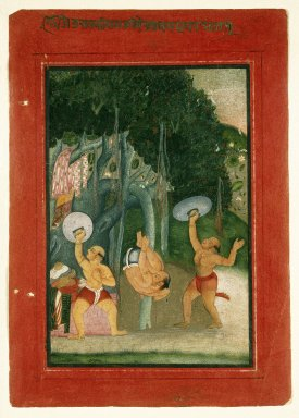 Indian. Desakhya Ragini, Page from a Ragamala Series, ca. 1760-1775. Opaque watercolor on paper, Sheet: 9 3/16 x 6 1/2 in. (23.3 x 16.5 cm). Brooklyn Museum, Frank L. Babbott Fund, 67.10