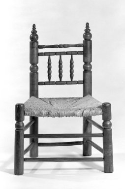 American. Chair, ca.1700. Maple, 29 7/8 x 20 3/4 x 15 in. (75.9 x 52.7 x 38.1 cm). Brooklyn Museum, Gift of Mr. and Mrs. Samuel Schwartz, 67.126.3. Creative Commons-BY