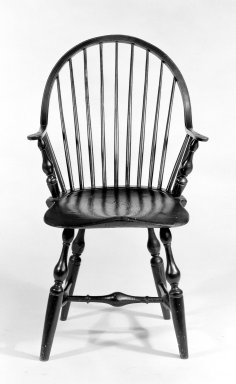 Windsor Chair, ca.1760. Maple, hickory, ash, 36 x 22 x 23 1/2 in. (91.4 x 55.9 x 59.7 cm). Brooklyn Museum, Gift of Mr. and Mrs. Henry Sherman, 67.128.11. Creative Commons-BY