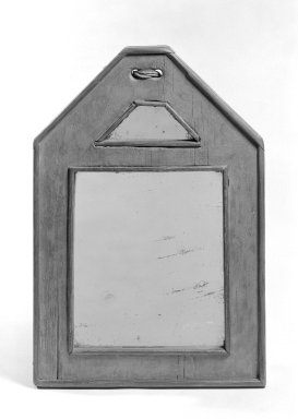 Courting Mirror, ca.1760. Glass, pine, 13 1/8 x 9 x 1 in. (33.3 x 22.9 x 2.5 cm). Brooklyn Museum, Gift of Mr. and Mrs. Henry Sherman, 67.128.19. Creative Commons-BY