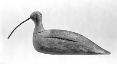 Decoy, ca. 1800. Pine, Other ((bird only)): 5 x 2 x 12 in. (12.7 x 5.1 x 30.5 cm). Brooklyn Museum, Gift of Mr. and Mrs. Henry Sherman, 67.128.22. Creative Commons-BY