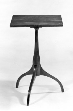 Stand, ca. 1830. Maple, 26 x 17 1/2 x 17 1/2 in. (66 x 44.5 x 44.5 cm). Brooklyn Museum, Gift of Mr. and Mrs. Henry Sherman, 67.128.6. Creative Commons-BY