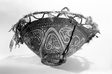 Carved Bowl. Rattan carrier Brooklyn Museum, Frederick Loeser Fund, 67.139.1. Creative Commons-BY