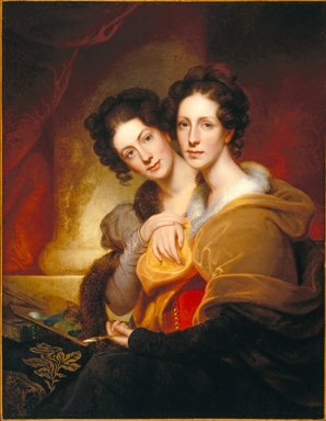 The Sisters (Eleanor and Rosalba Peale)