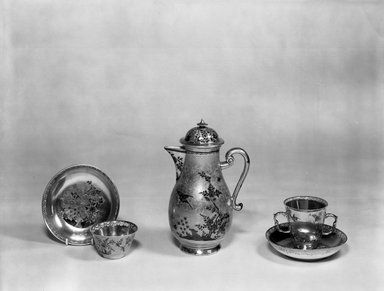 Meissen Porcelain Factory. 6 Cups and 6 Saucers (Part of Chocolate Service Set), ca.1750. Porcelain, Other (cups): 2 5/8 x 2 13/16 in. (6.7 x 7.1 cm). Brooklyn Museum, Gift of Mrs. Ernest T. Weir, 67.227.1c-n. Creative Commons-BY