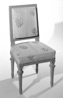 George Jacob (1768-1803). Chair, ca. 1785. Carved beechwood, 31 3/4 x 17 x 16 in. (80.6 x 43.2 x 40.6 cm). Brooklyn Museum, Gift of the Estate of Mary Hayward Weir, 68.202.3. Creative Commons-BY