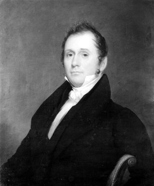 Chester Harding (American, 1792-1866). The Honorable Russell Freeman, ca. 1830. Oil on canvas, 29 1/2 x 24 7/16 in. (74.9 x 62.1 cm). Brooklyn Museum, Gift of Howard Weingrow, 68.208