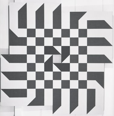 Will F. Insley (American, 1929-2011). Wall at Dawn, 1963-1964. Acrylic on masonite, 103 1/8 x 103 1/8 in. (261.9 x 261.9 cm). Brooklyn Museum, Gift of Steve Shapiro, 68.212. © Westwood Gallery NYC