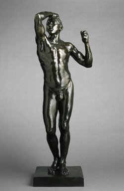 Brooklyn Museum: The Age of Bronze, medium-sized model, first reduction (L'Age d'airain, première réduction)
