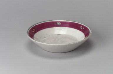 Union Porcelain Works (1863-ca.1922). Small Dessert Dish, ca. 1879. Porcelain, 1 1/4 x 5 1/16 x 5 1/16 in. (3.2 x 12.9 x 12.9 cm). Brooklyn Museum, Gift of Franklin Chace, 68.87.16. Creative Commons-BY