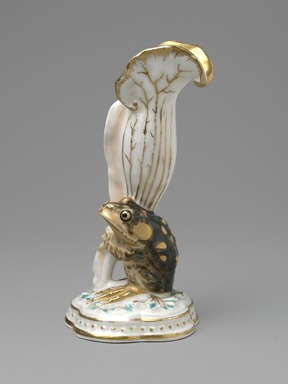 Karl L. H. Mueller (American, born Germany, 1820-1887). Vase, ca. 1876. Porcelain, 5 3/4 x 3 x 2 3/4 in. (14.6 x 7.6 x 7 cm). Brooklyn Museum, Gift of Franklin Chace, 68.87.37. Creative Commons-BY