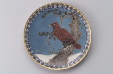 Union Porcelain Works (1863-ca. 1922). Plate, ca.. 1877. Porcelain, 9 15/16 x 9 15/16 x 1 3/16 in. (25.2 x 25.2 x 3 cm). Brooklyn Museum, Gift of Franklin Chace, 68.87.48. Creative Commons-BY