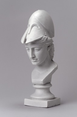 Union Porcelain Works (1863-ca.1922). Bust, late 19th century. Unglazed porcelain, 9 3/4 x 3 x 4 7/8 in. (24.8 x 7.6 x 12.4 cm). Brooklyn Museum, Gift of Franklin Chace, 68.87.53. Creative Commons-BY