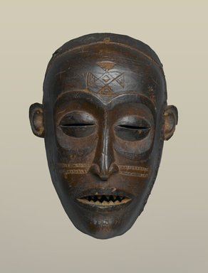 Brooklyn Museum: Mask (Mwana Pwo)