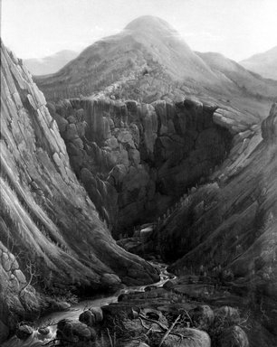 Brooklyn Museum: Imperial Knob and Gorge: White Mountains of New Hampshire