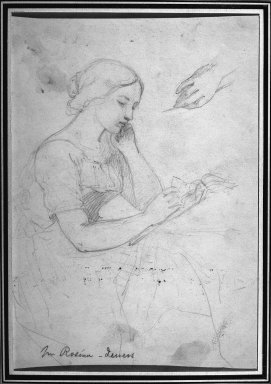 Brooklyn Museum: Woman Reading