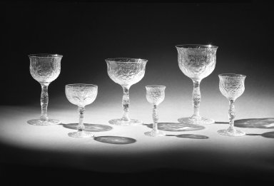Libbey Glass Company (founded 1888). Cordial Glass, ca. 1904. Glass, 3 13/16 x 1 1/2 x 1 7/16 in. (9.7 x 3.8 x 3.7 cm). Brooklyn Museum, Gift of the Toledo Museum of Art and Owens-Illinois, Inc., 69.76.6. Creative Commons-BY