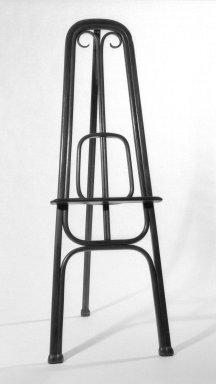 Gebrüder Thonet. Easel, ca. 1870. copper beech, 69 x 24 1/2 x 27 in. (175.3 x 62.2 x 68.6 cm). Brooklyn Museum, Caroline A.L. Pratt Fund, 69.79.2. Creative Commons-BY