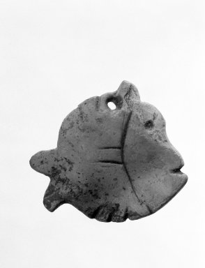 Maya. Cut-Out Form of Blowfish. Shell Brooklyn Museum, Gift of Jerome Furman, 70.151.6. Creative Commons-BY