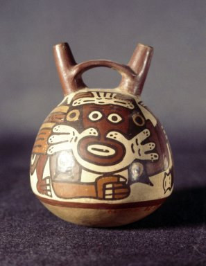 Nasca. Vessel. Ceramic, 5 1/4 x  4 in. Brooklyn Museum, Gift of Ernest Erickson, 70.177.24. Creative Commons-BY