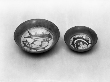 Nasca. Bowl. Ceramic, Diam: 7 1/2 in. (19 cm). Brooklyn Museum, Gift of Ernest Erickson, 70.177.37. Creative Commons-BY