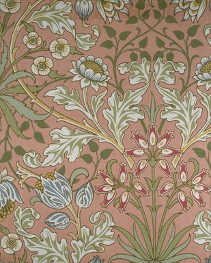 William Morris and Company. Wallpaper Sample Book, before 1917. Printed paper, 21 1/2 x 14 1/2 in. (54.6 x 36.8 cm). Brooklyn Museum, Purchased with funds given by Mr. and Mrs. Carl L. Selden and Designated Purchase Fund, 71.151.1