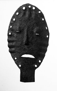 Lega. Mask, late 19th or early 20th century. Iron, 7 3/4 x 4 1/4 x 1 in. (19.7 x 10.8 x 2.3 cm). Brooklyn Museum, Gift of David R. Markin, 71.21.2. Creative Commons-BY