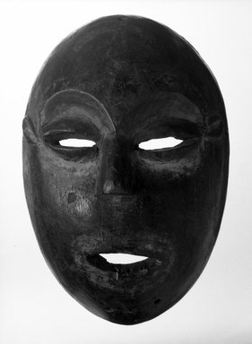 Lega. Mask, late 19th or early 20th century. Wood, 11 1/2 x 7 1/2 x 4 1/4 in. (29.2 x 19.0 x 10.8 cm). Brooklyn Museum, Gift of Elliot Picket, 71.22.5. Creative Commons-BY