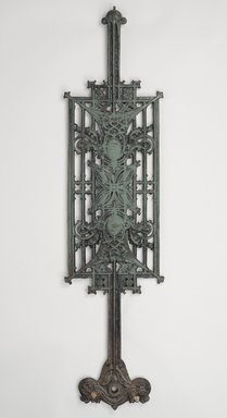 Louis Henry Sullivan (American, 1856-1924). Baluster Panel, One of Set, ca.1903. Cast iron, paint, 39 3/4 x 9 3/4 x 2 1/4 in. (101 x 24.8 x 5.7 cm). Brooklyn Museum, Gift of Carson, Pirie and Scott Co., 71.42.2. Creative Commons-BY