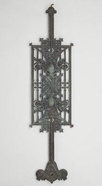 Louis Henry Sullivan (American, 1856-1924). Baluster Panel, One of Set, ca.1903. Cast iron, paint, 40 x 9 3/4 x 2 1/4 in. (101.6 x 24.8 x 5.7 cm). Brooklyn Museum, Gift of Carson, Pirie and Scott Co., 71.42.3. Creative Commons-BY