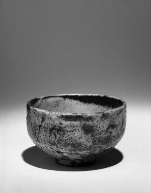 Kitaoji Rosanjin (Japanese, 1883-1959). Tea Bowl, ca. 20th century. Stoneware, white underglaze, red to deep orange mottled overglaze., 3 x 4 3/4 in. (7.6 x 12.1 cm). Brooklyn Museum, Gift of Bernice and Robert Dickes, 72.162.1. Creative Commons-BY