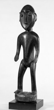 Senufo. Standing Figure, 20th century. Wood, 13 5/8 x 3 1/2 x 3 1/4 in. (34.5 x 8.9 x 8.3 cm). Brooklyn Museum, Gift of Mr. and Mrs. John A. Friede, 73.107.12. Creative Commons-BY