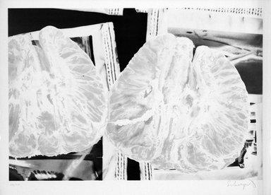 Ben Schonzeit (American, born 1942). Tangerine Sugar, 1972. Lithograph on paper, sheet: 24 3/4 x 34 1/2 in. (62.9 x 87.6 cm). Brooklyn Museum, Designated Purchase Fund, 73.11i. © Ben Schonzeit