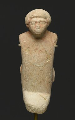 Egyptian. Figure of a Bound Foreign Prisoner, ca. 1979-1801 B.C.E. Limestone, 4 7/16 x 1 3/4 x 1 3/8 in. (11.3 x 4.5 x 3.5 cm). Brooklyn Museum, Charles Edwin Wilbour Fund, 73.23. Creative Commons-BY