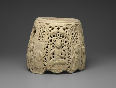 Brooklyn Museum: Top Section of a Water Jug